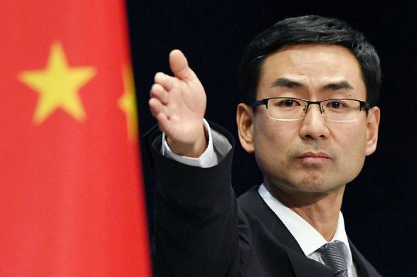 Geng Shuang says US slandered China, but who would trust him?