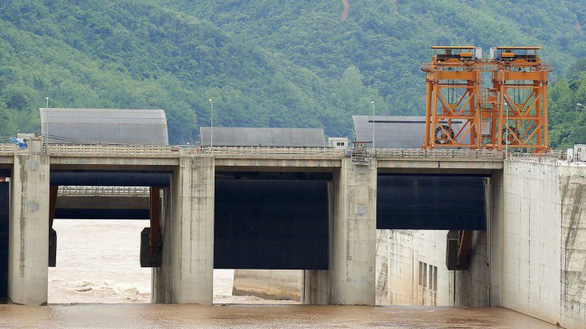 The Jinghong hydropower station in Yunnan Province, China. Photo: Mekong River Commission