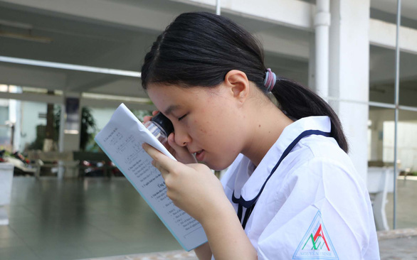 Vietnamese girl with impaired vision earns university scholarship