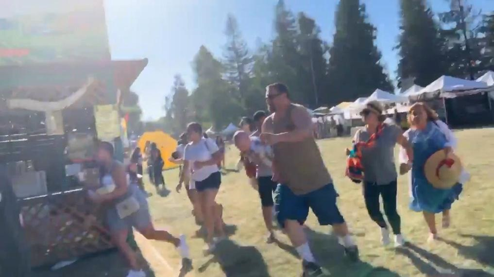 Three reported killed in shooting at California garlic festival
