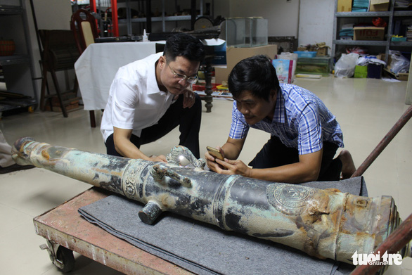 Vietnamese scientists trace origin of centuries-old cannon found in Da Nang