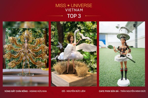 'Altar dress' eliminated from race to be Vietnam's national costume at Miss Universe