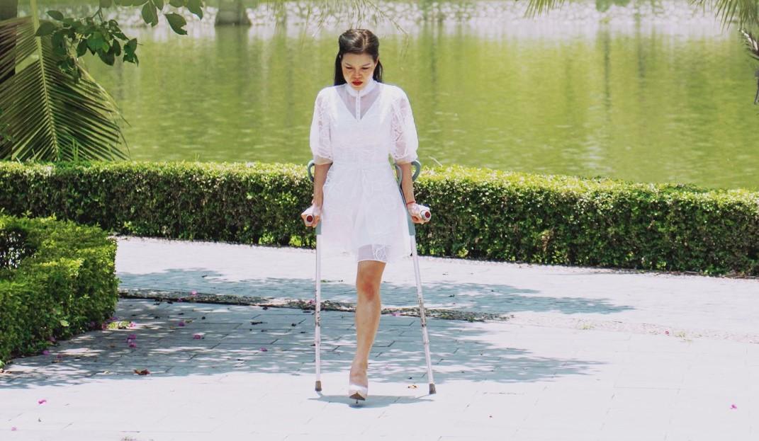 Having just one leg isn't slowing down this successful Vietnamese entrepreneur