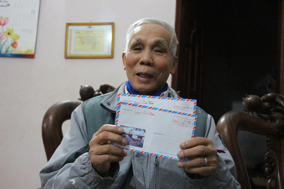 Vietnamese man writes 18,000 letters to help families find graves of fallen soldiers