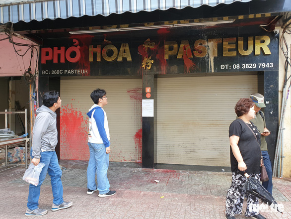 Famous Saigon pho house forced to close after repeated vandalism