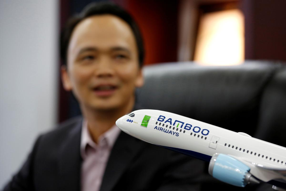 Bamboo Airways boss says direct US flights not pipe dream for young Vietnam airline