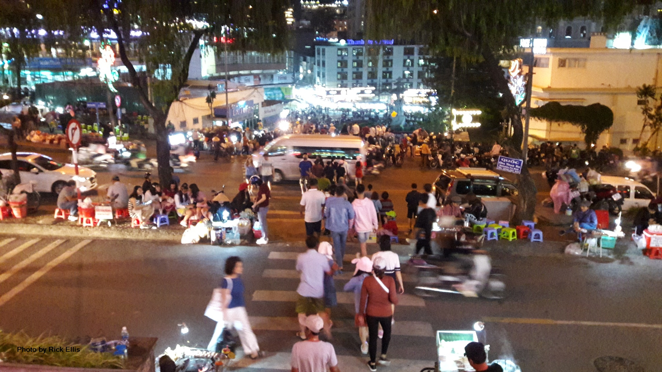 Night market view