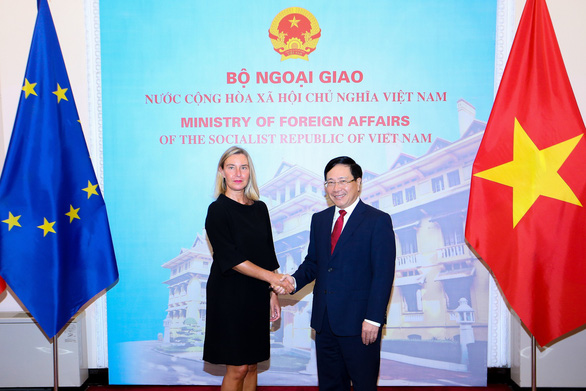 Vietnam appreciates EU's support for freedom of navigation, respect for int'l maritime law