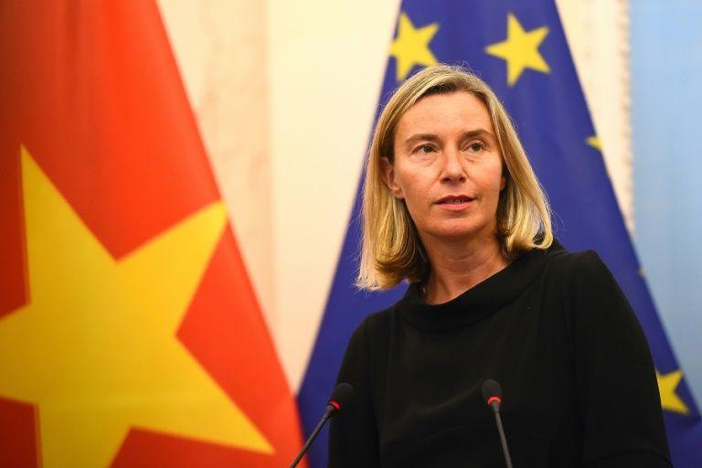 EU criticizes 'militarization' of East Vietnam Sea