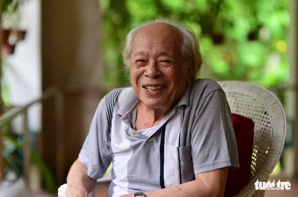 Duong Quang Thien is pictured at his home in Ho Chi Minh City. Photo: Quang Dinh / Tuoi Tre
