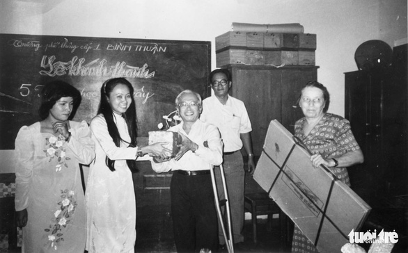 Duong Quang Thien is seen in this file photo dated 1993. Photo: Nguyen Cong Thanh / Tuoi Tre