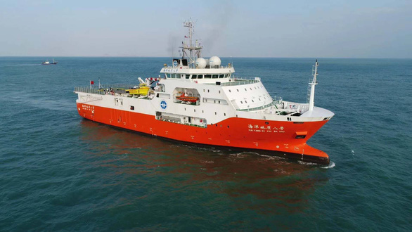 Chinese survey ship Haiyang Dizhi 8 out of Vietnam's EEZ, Continental Shelf: foreign ministry