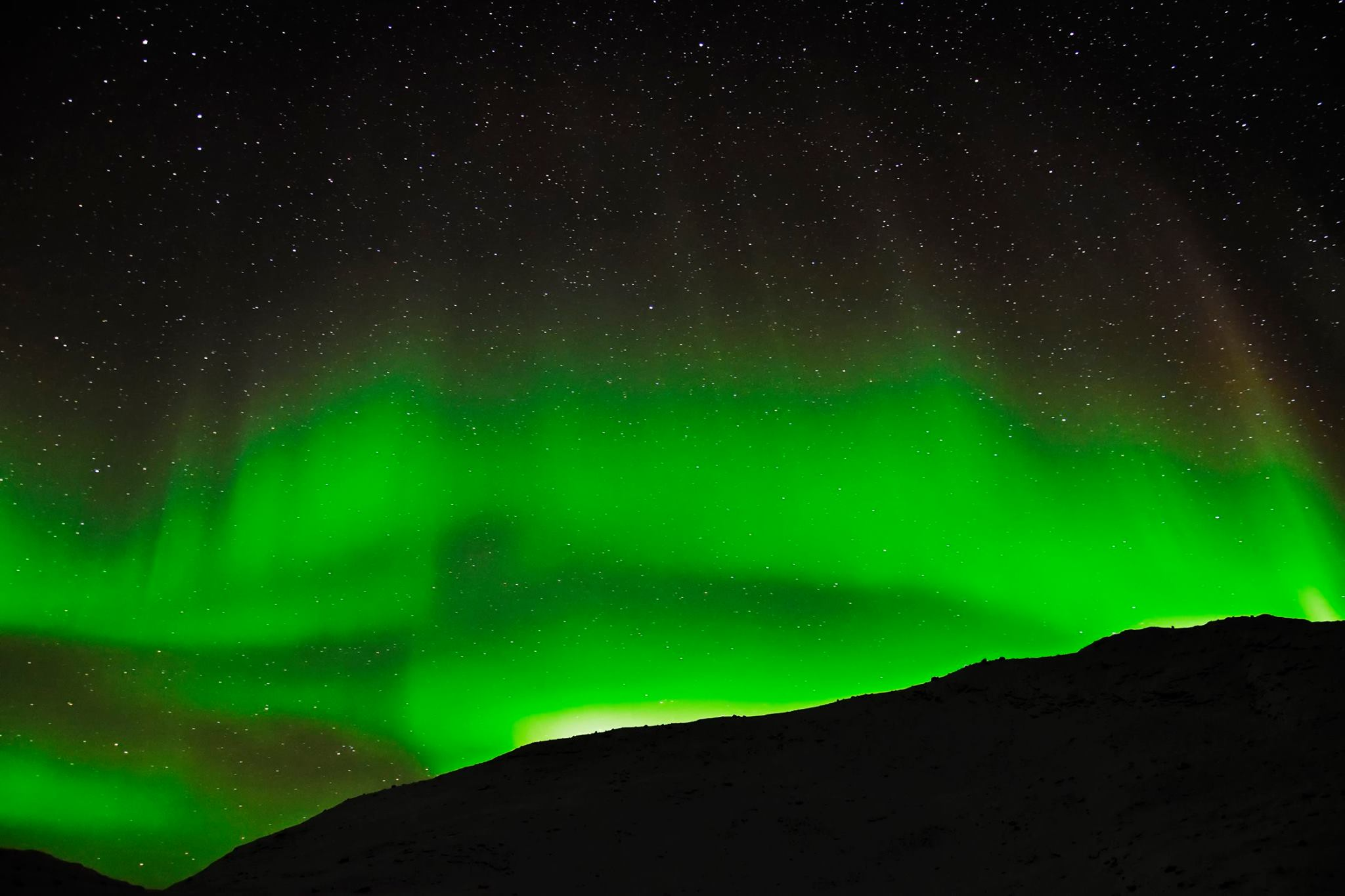 Aurora in Greenland taken by Dang Khoa