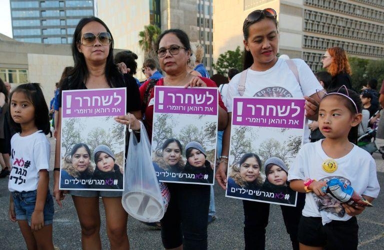 Israel deports Filipina worker, Israeli-born son