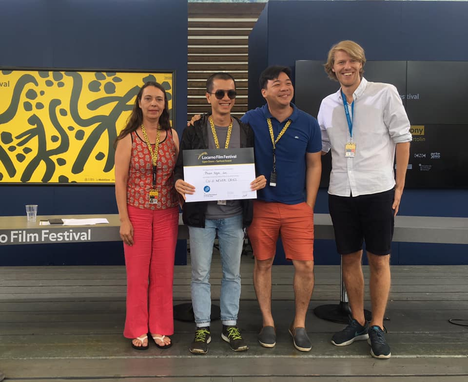 Vietnamese representatives honored at Swiss film festival Locarno