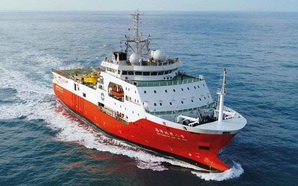 China's survey ship Haiyang Dizhi 8 violates Vietnam's EEZ, Continental Shelf, again: foreign ministry