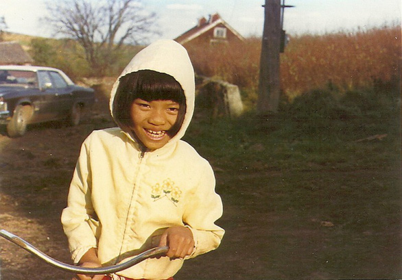 Pham Thi Anh Tuyet is seen in a picture taken when she was young. Photo: Supplied