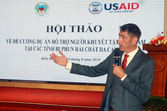 US to spend $50mn on supporting dioxin victims in seven Vietnamese provinces