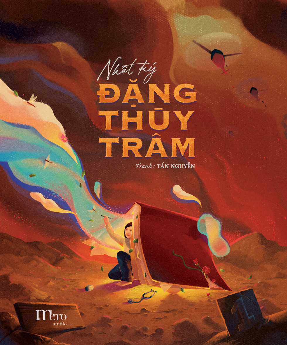 The cover of Nguyen Hoang Tan's illustration project