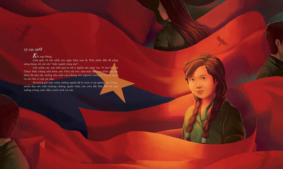 Vietnamese student gains public attention with illustrated edition of famous wartime diary