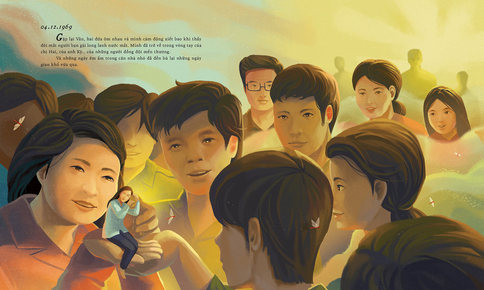An illustration of Nhat Ky Dang Thuy Tram by Nguyen Hoang Tan