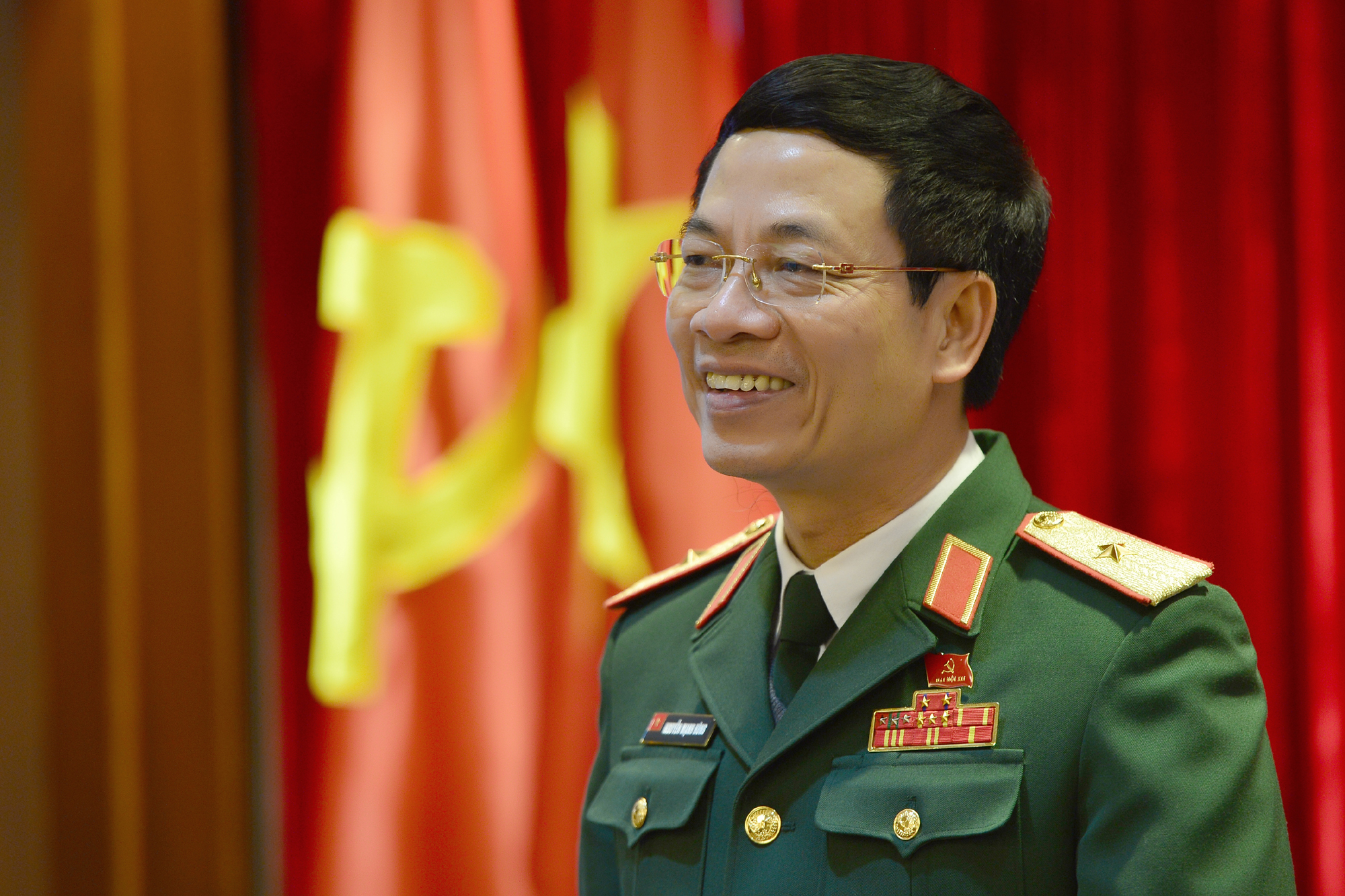 Nguyen Manh Hung, Vietnamese Minister of Information and Communications. Photo: Vietnam News Agency