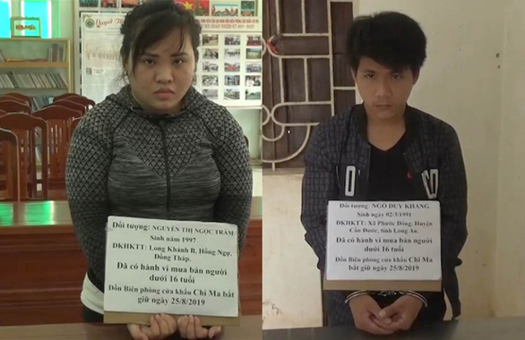 Couple arrested for selling newborn at Vietnam-China border