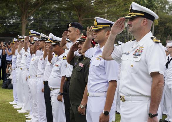 US naval official praises Vietnam's professionalism at US-ASEAN maritime exercise