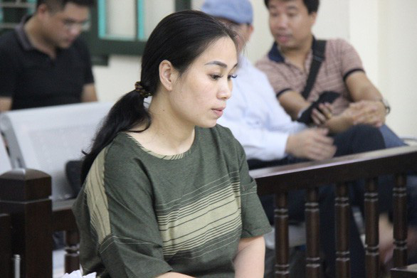 Nguyen Thi Van appears at a trial in April 2019. Photo: V.T. / Tuoi Tre