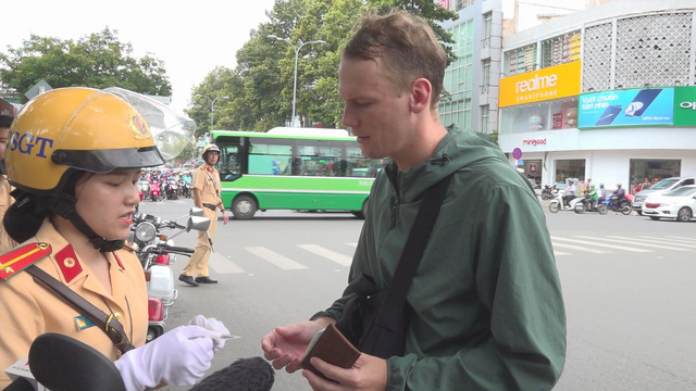 Time's up: Saigon police say won't go soft on foreign traffic violators as 'education' period ends