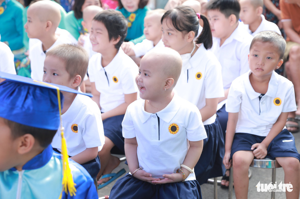 Children with cancer attend special school year opening ceremony at Saigon hospital