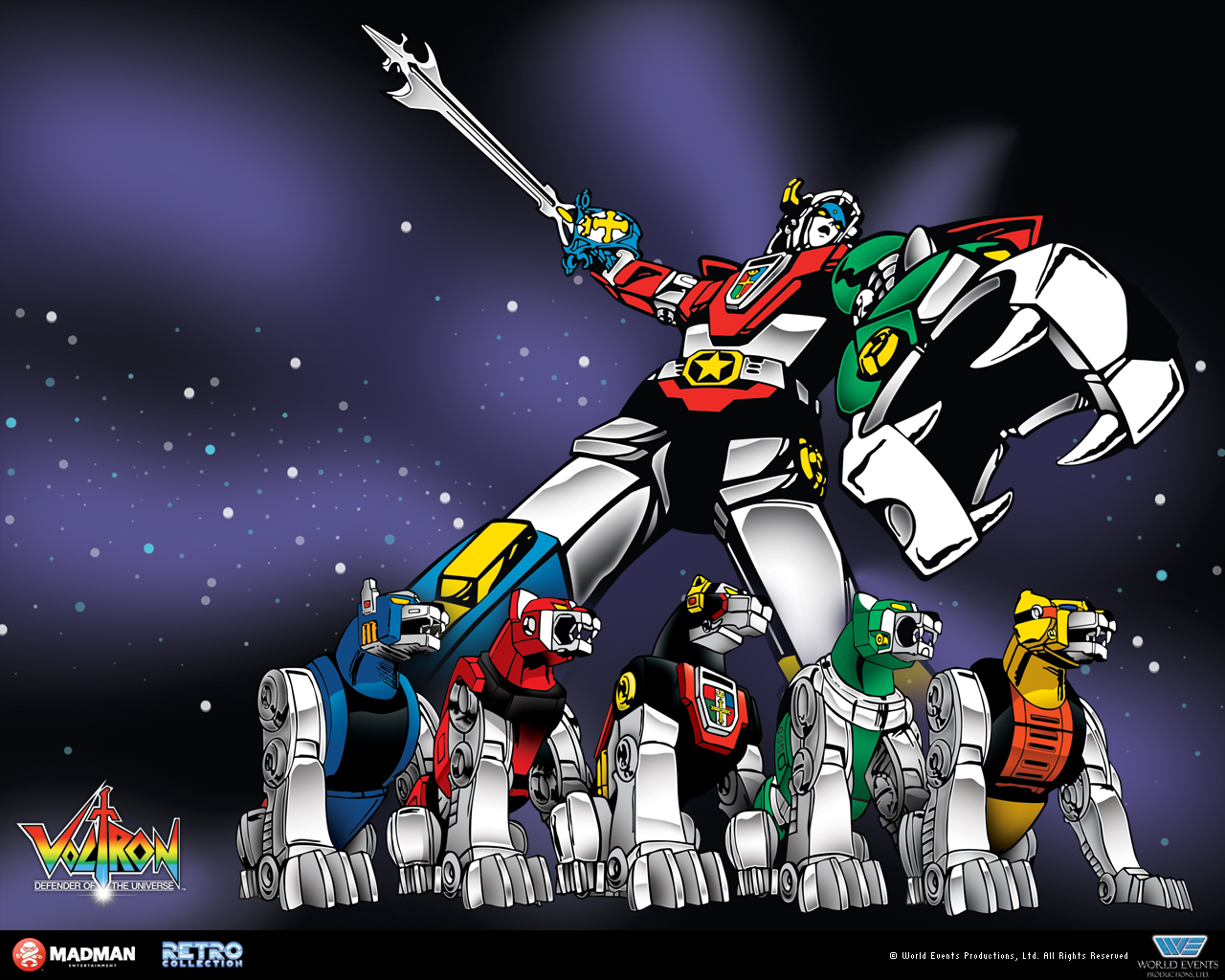 A 'Voltron' artwork is seen in this photo. Photo: WEP