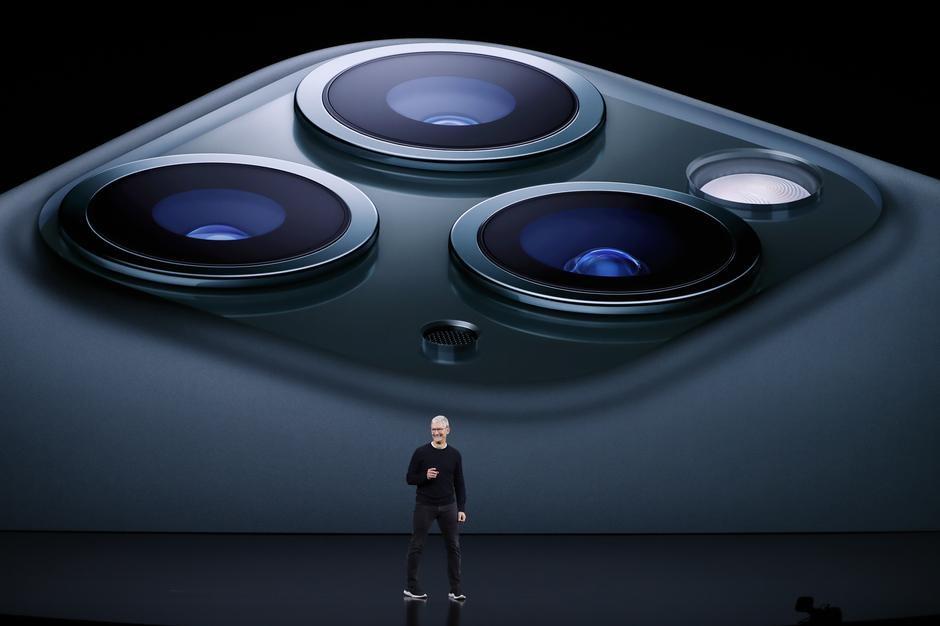 Apple reveals triple-camera iPhone; $5 monthly streaming TV undercuts Disney