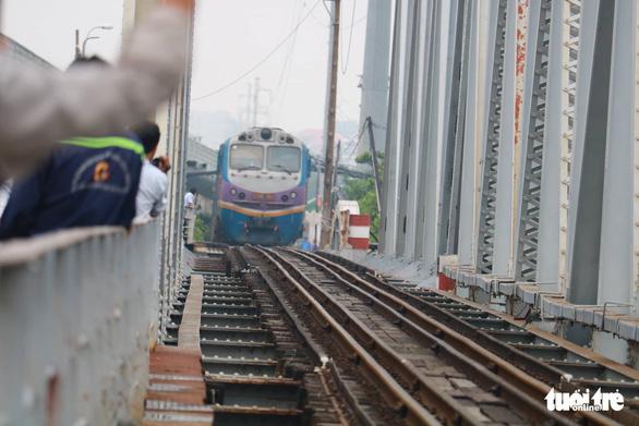 Saigon's 117-year-old railway bridge serves its last train