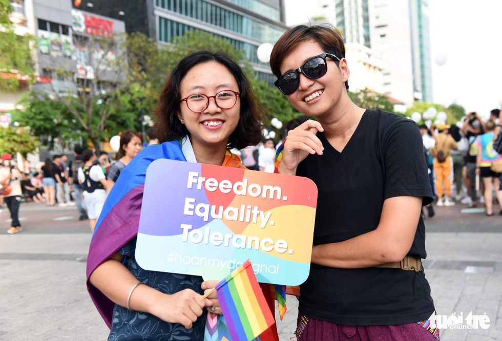 LGBT members join pride parade in Ho Chi Minh City