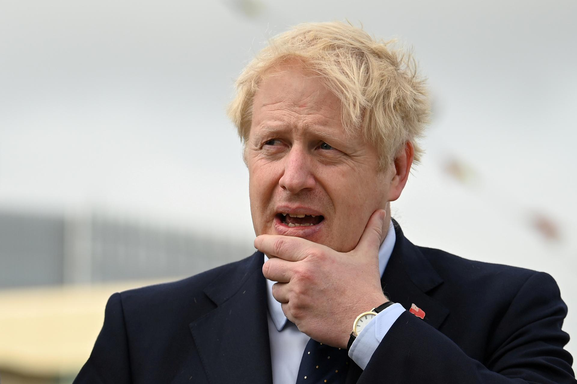 Johnson, likening himself to Incredible Hulk, vows Oct. 31 Brexit