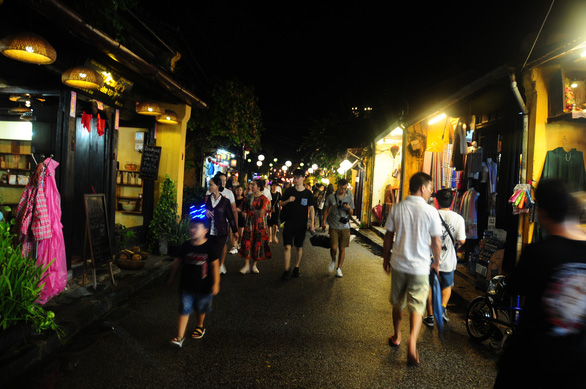 Hoi An Ancient Town at night. Photo: B.D. / Tuoi Tre
