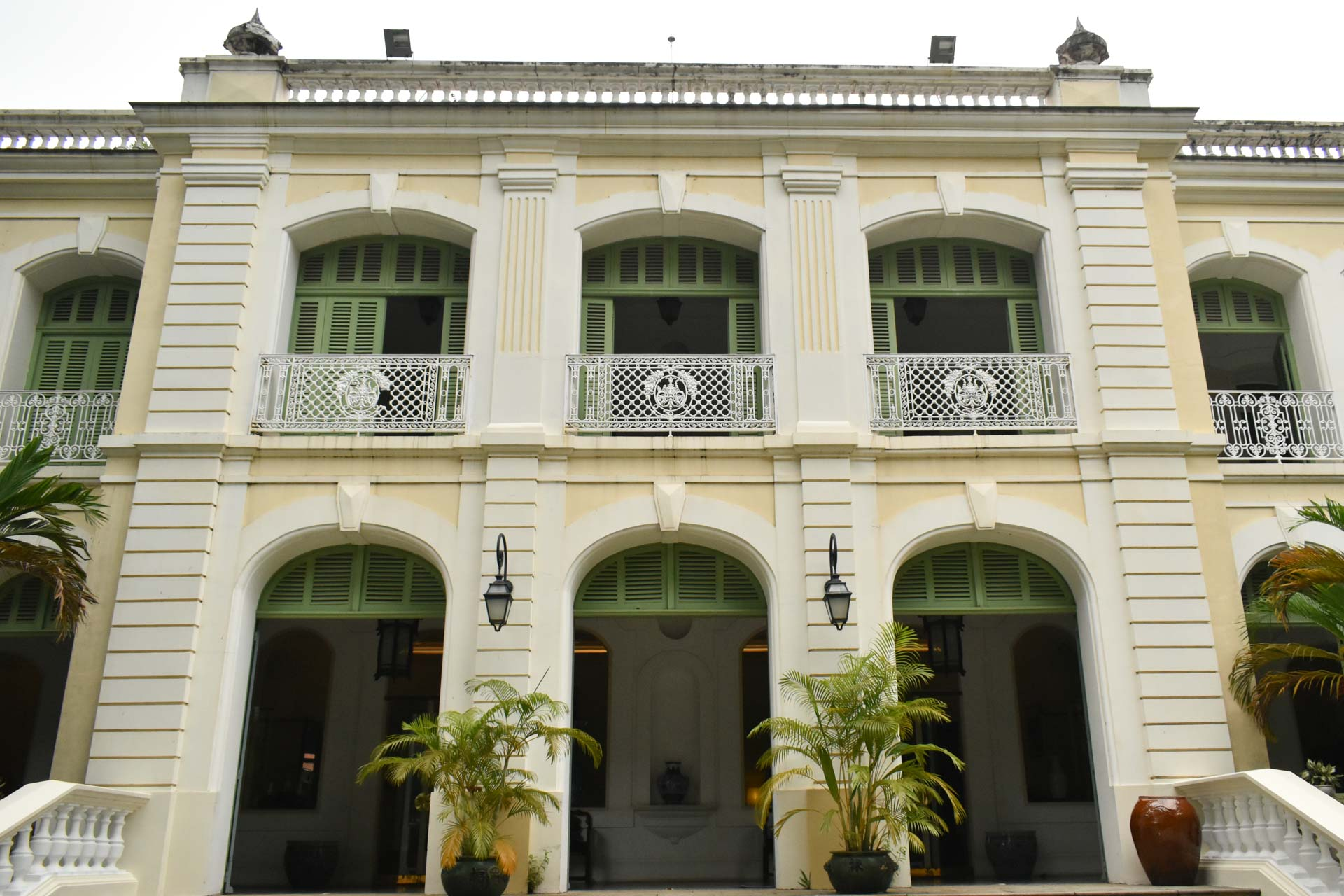The main building of the Consulate General of France in Ho Chi Minh City. Photo: Tuan Son / Tuoi Tre News