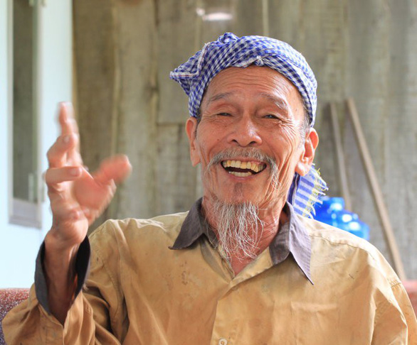 Nguyen Van Bay enjoys retirement at his home in Dong Thap Province, Vietnam. Photo: Tuoi Tre