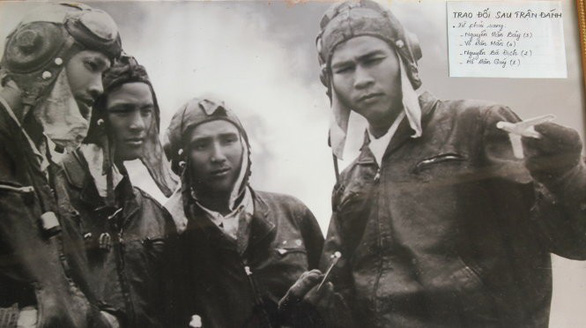 A young Nguyen Van Bay (R)  is seen in this file photo.