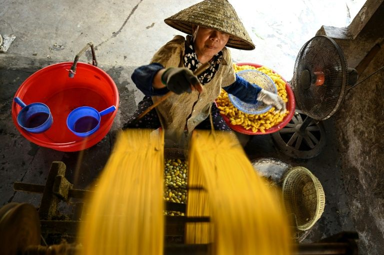 Keeping the thread alive at a Vietnam silk village