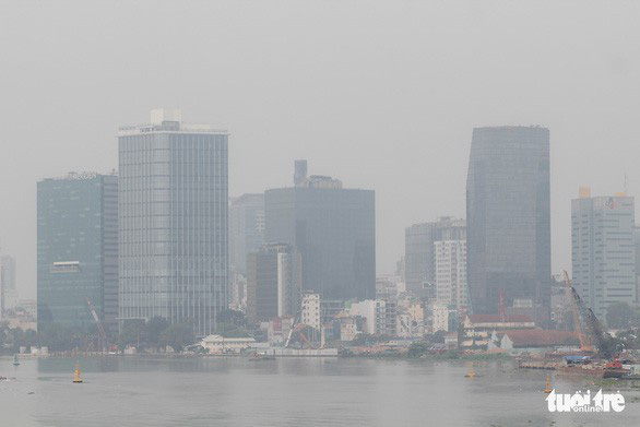 Weather to blame for foggy Ho Chi Minh City: environment department