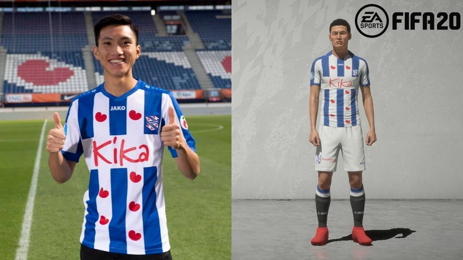 Vietnam football star Doan Van Hau added in FIFA 20 video game