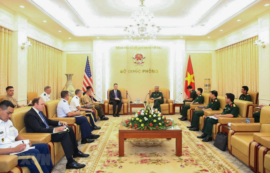 Vietnam, US step up defense ties