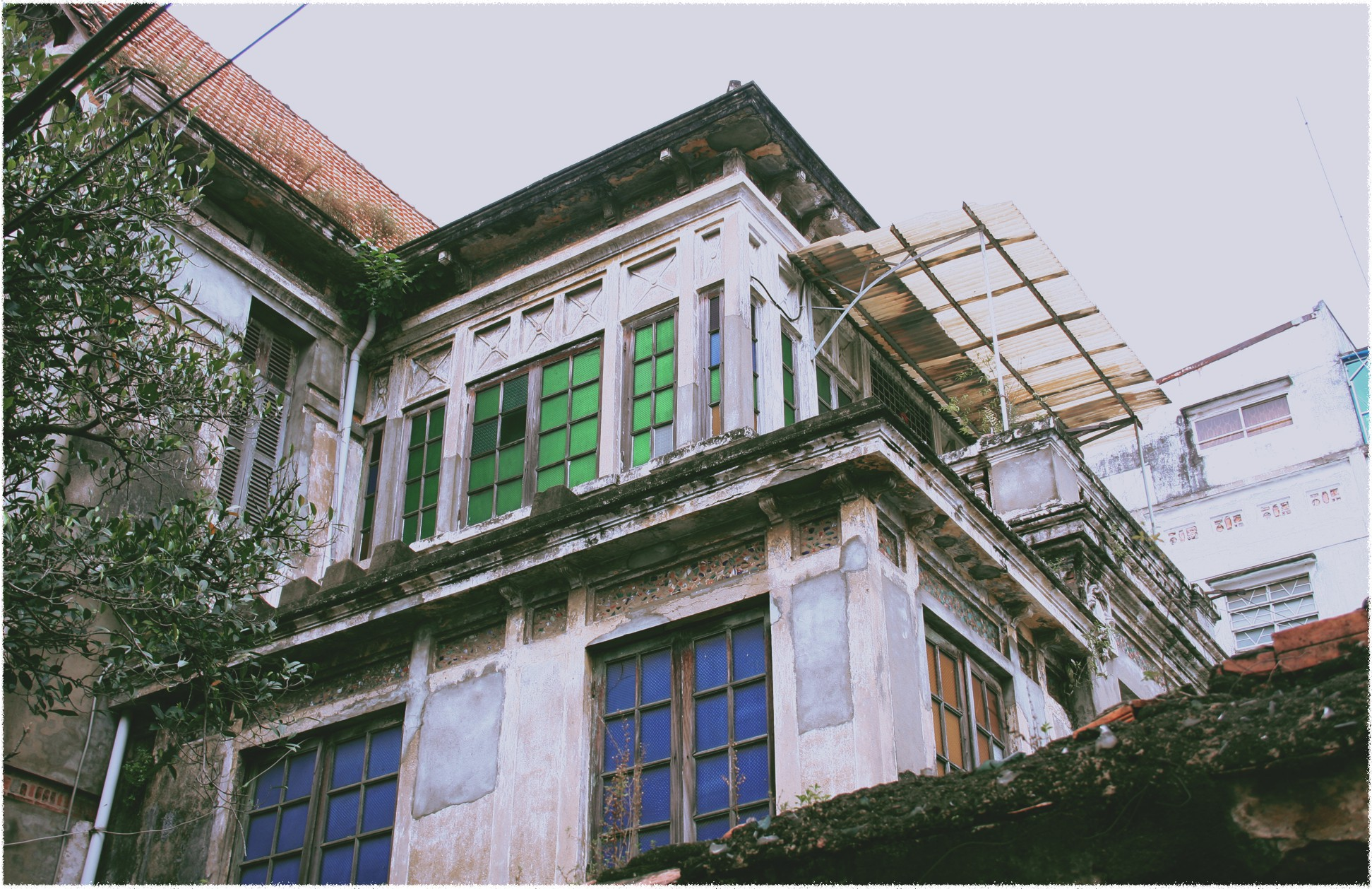An old French villa located at number 8 Bai Say Street in Ho Chi Minh City. Photo: Tuoi Tre