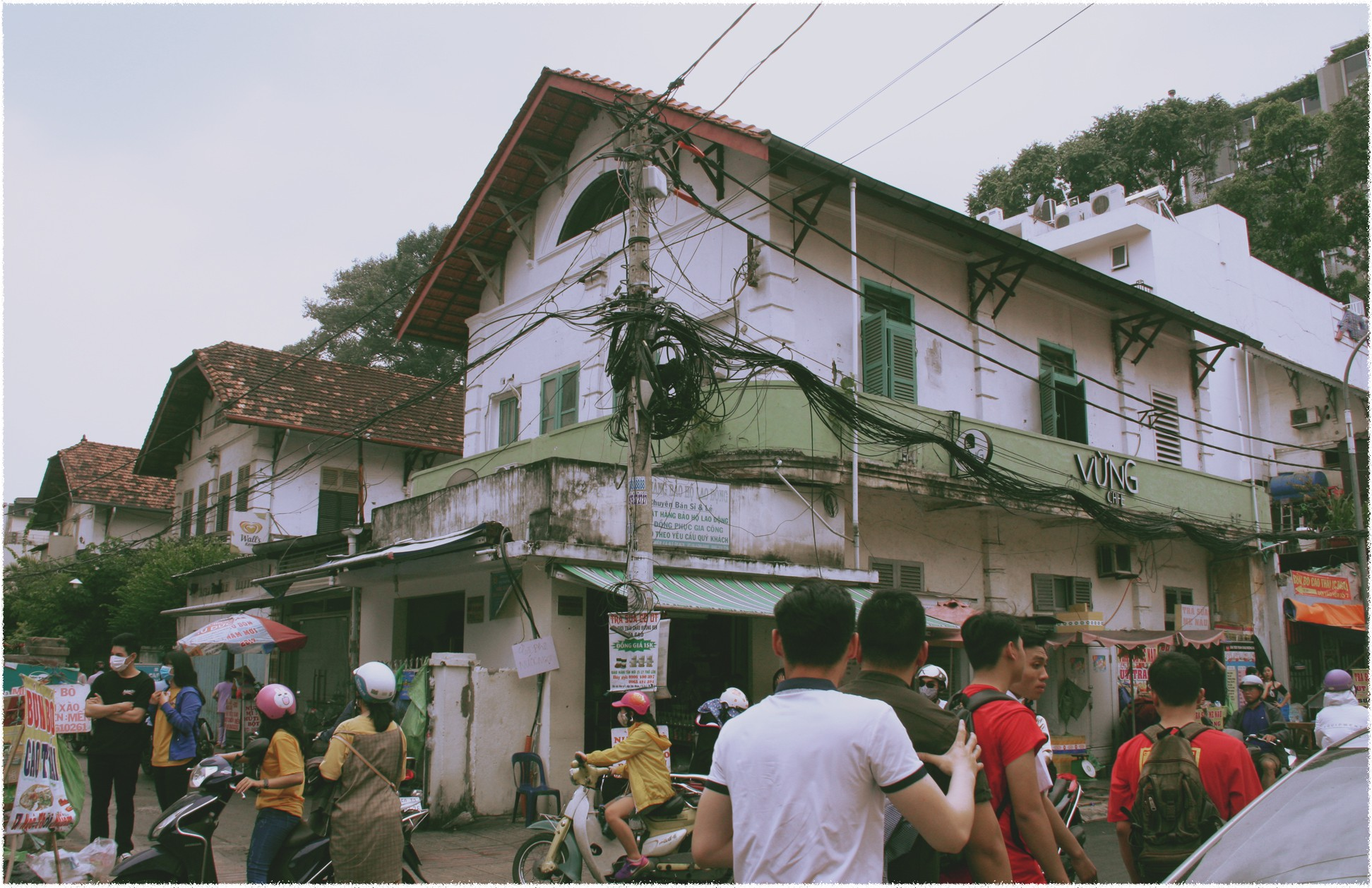 An old French villa located at number 9-17 Ngo Thoi Nhiem Street in Ho Chi Minh City. Photo: Tuoi Tre