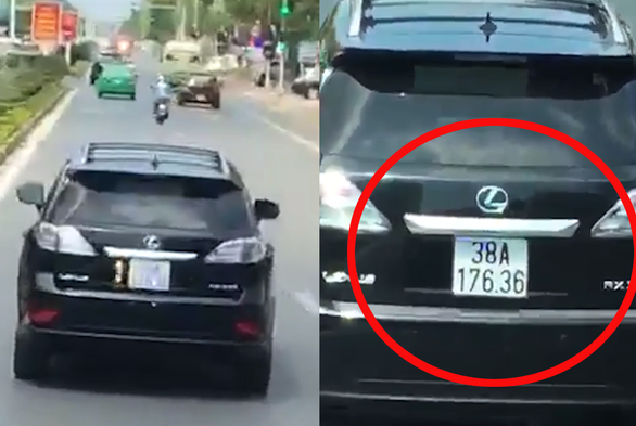 Lexus driver says siren 'inaudible' after car filmed blocking fire truck in Vietnam