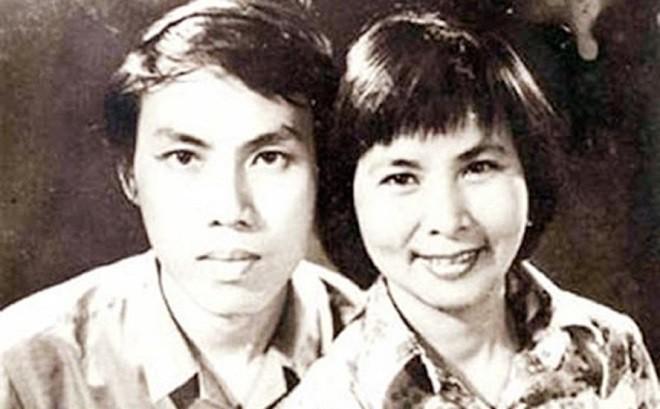 Xuan Quynh and her husband Luu Quang Vu