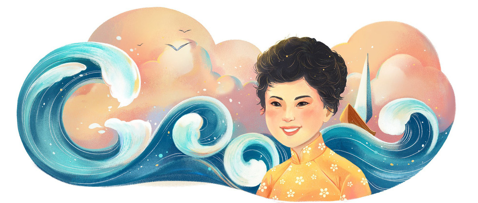 Renowned Vietnamese poet Xuan Quynh featured on Google Doodles