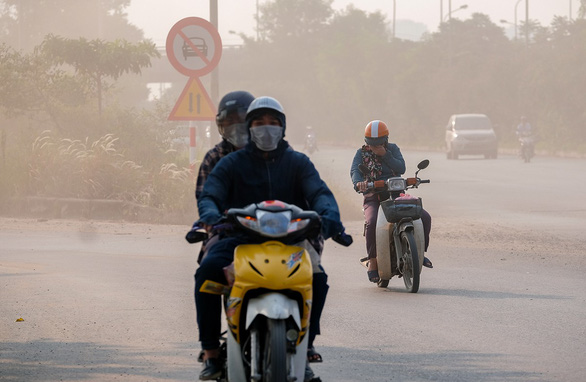 Air pollution in Hanoi. Photo: Nam Tran / Tuoi Tre